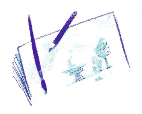 The Walking Sketch