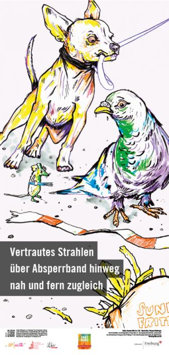 Litfass Haiku Tilmann Waldvogel