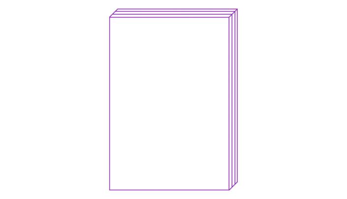 Abbildung blanko Buchcover für Workshop